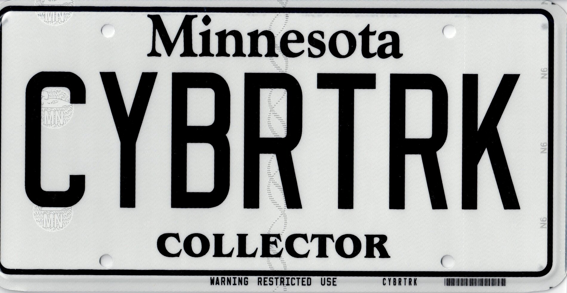 CYBRTRK license plate Collector MN A4.jpg